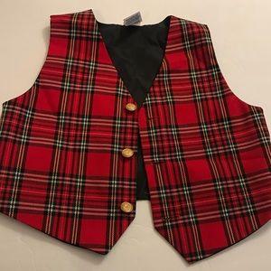 Other - Super cute kids plaid vest!